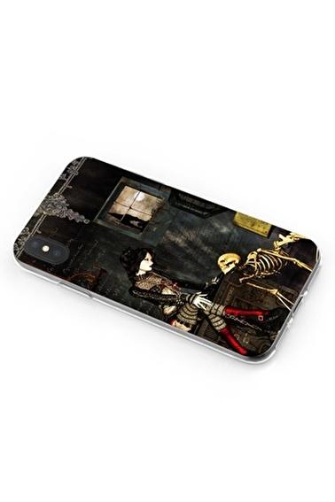 Lopard iPhone Xs Max Kılıf Silikon Arka Kapak Koruyucu Fetiş Hayatlar Desenli Full HD Baskılı Renkli